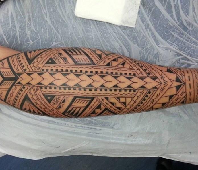 punte lancia tattoo maori