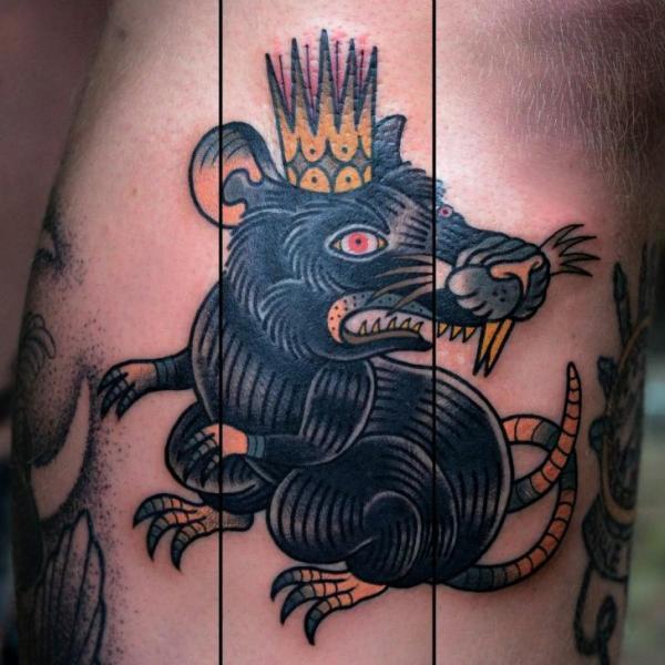 tatuaggio ratto