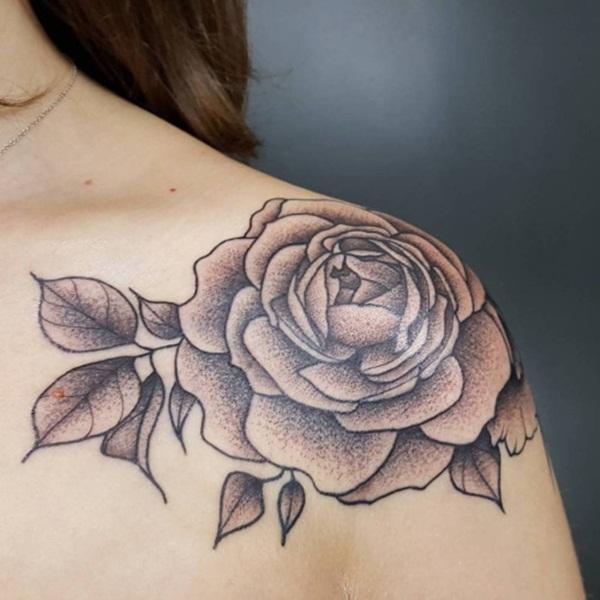 tatuaggio rosa
