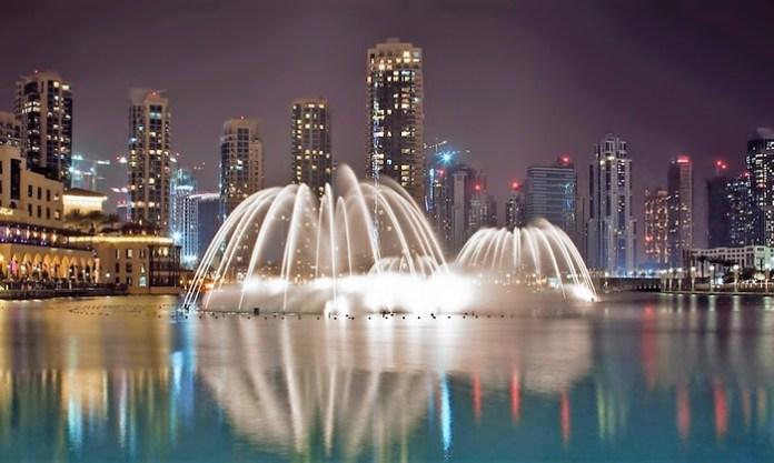 Fontane di Dubai