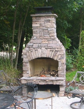 Outdoor Fireplace Kits For The Diyer Shine Diy Amp Design