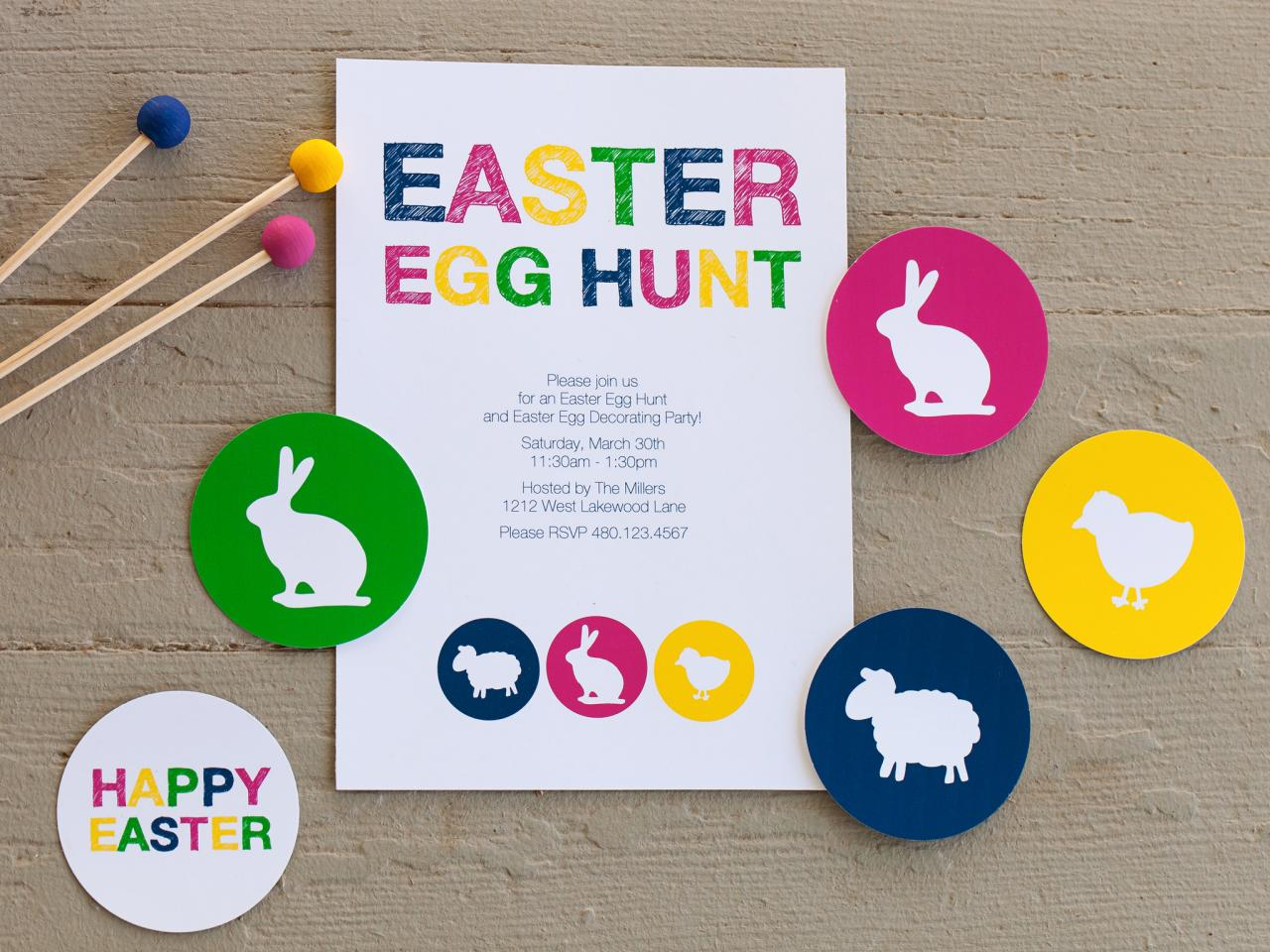 Free Printable For Your Easter Party