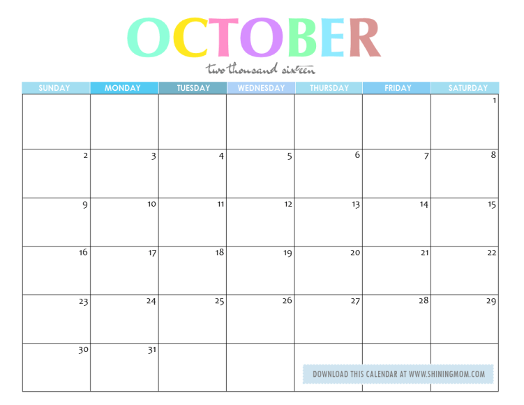 free-printable-october-2016- ...