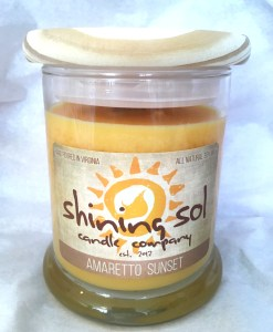 Amaretto Sunset - Medium Candle