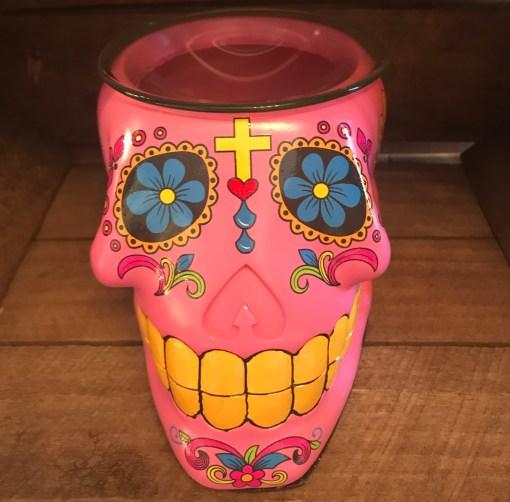 Pink Skull Warmer
