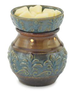 Illumination Blue Fleur de Lis Warmer