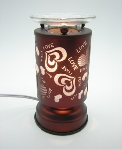 Love and Hearts Copper Touch Warmer