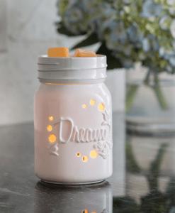 Mason Jar Midsize Illumination Warmer