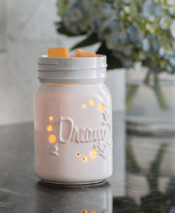 Mason Jar Midsize Illumination Warmer