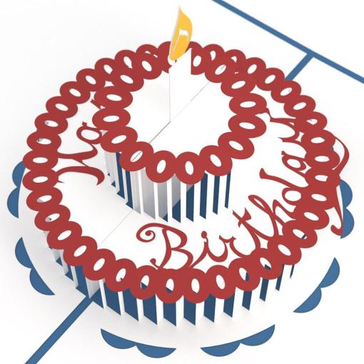 Birthday Cake Greeting Card