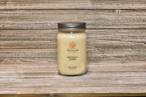 Mason Jar - Honeysuckle Jasmine