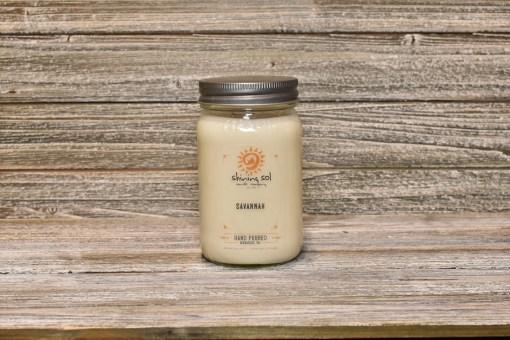 Mason Jar - Savannah