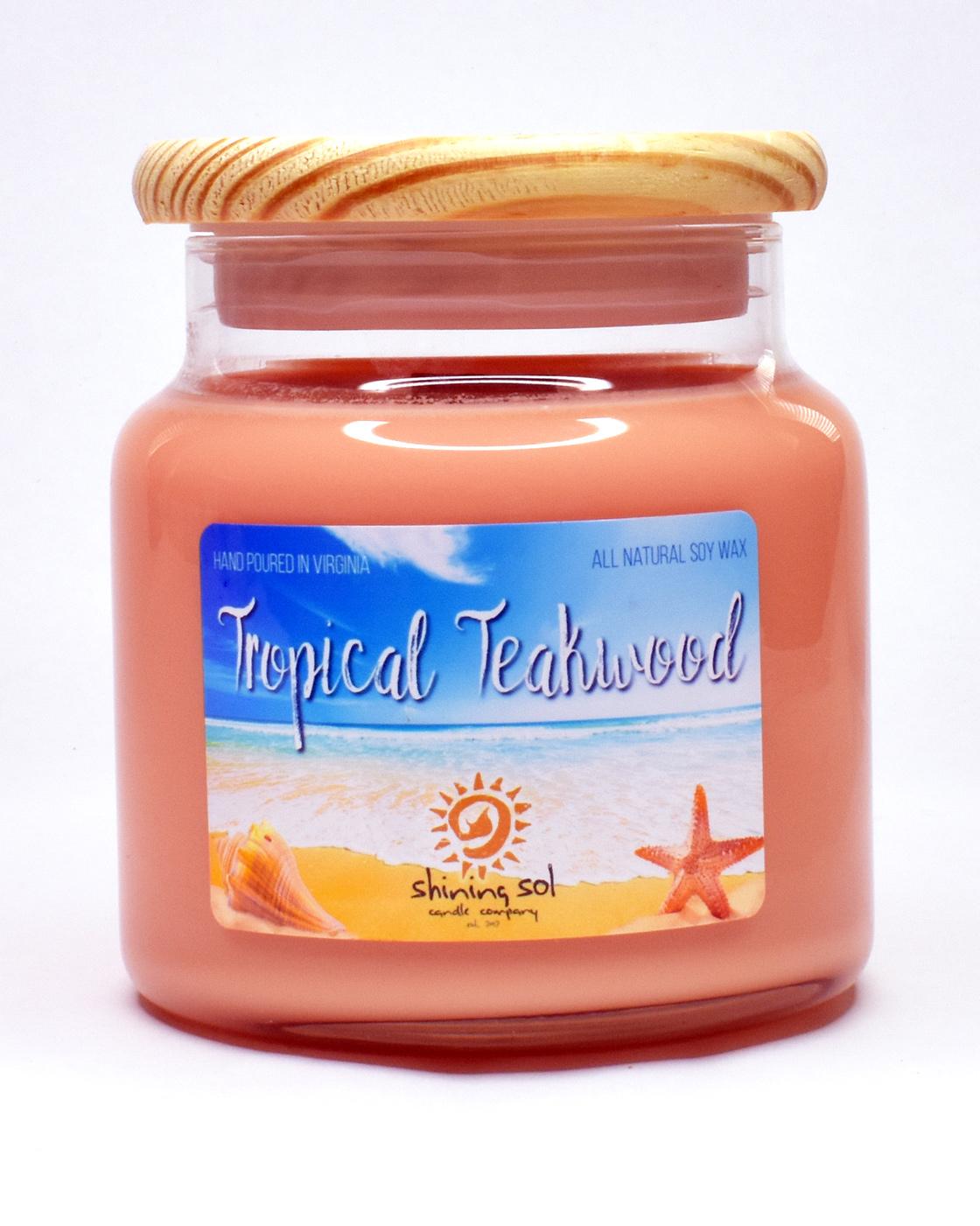 Tropical Teakwood - Large Candle