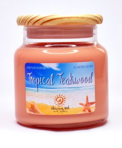 Tropical Teakwood - Large Candle