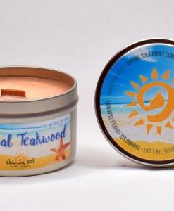 Tropical Teakwood - Large Tin