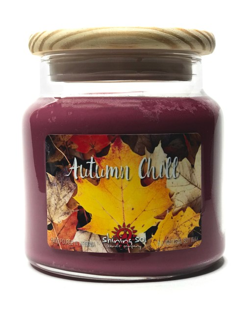 Autumn Chill - Large Jar Candle