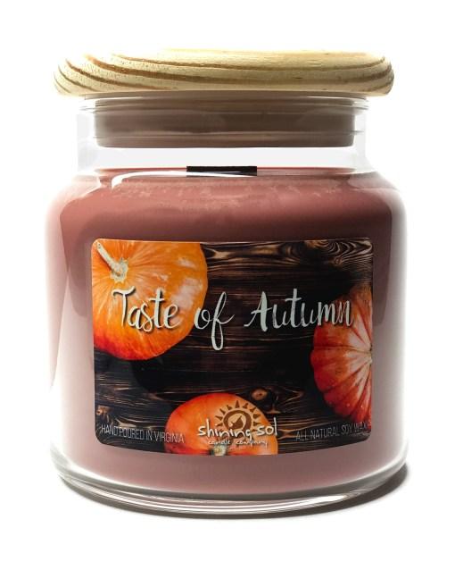 Taste of Autumn - Large Jar Candle