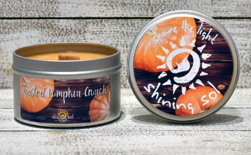 Toasted Pumpkin Crunch - Large Tin