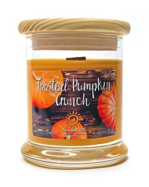 Toasted Pumpkin Crunch - Medium Jar Candle