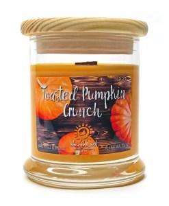 Toasted Pumpkin Crunch - Medium Jar Candle