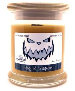 King of Pumpkins - Medium Jar Candle