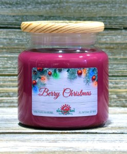 Berry Christmas - Large Candle