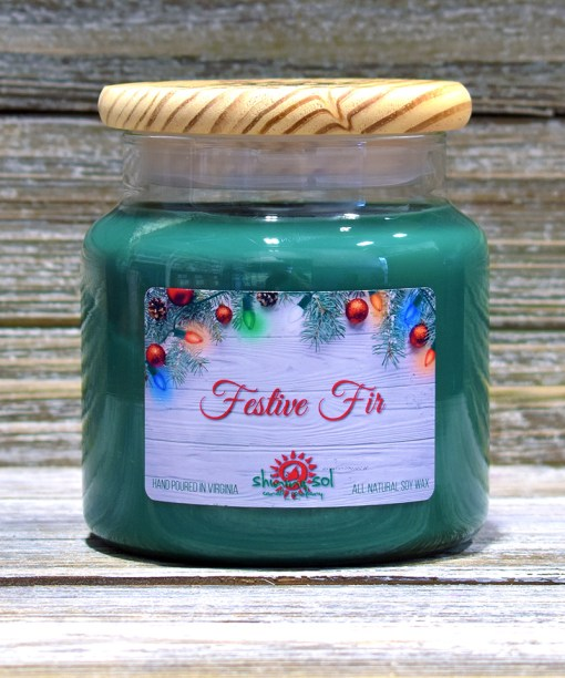 Festive Fir - Large Candle