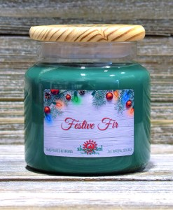 Festive Fir - Large Candle
