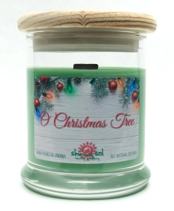 O Christmas Tree - Medium Jar Candle