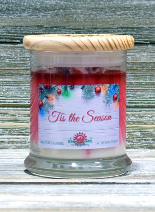 Tis the Season - Medium Candle
