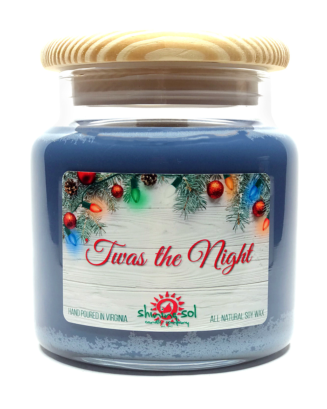 Twas the Night - Large Jar Candle