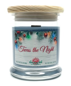 Twas the Night - Medium Jar Candle