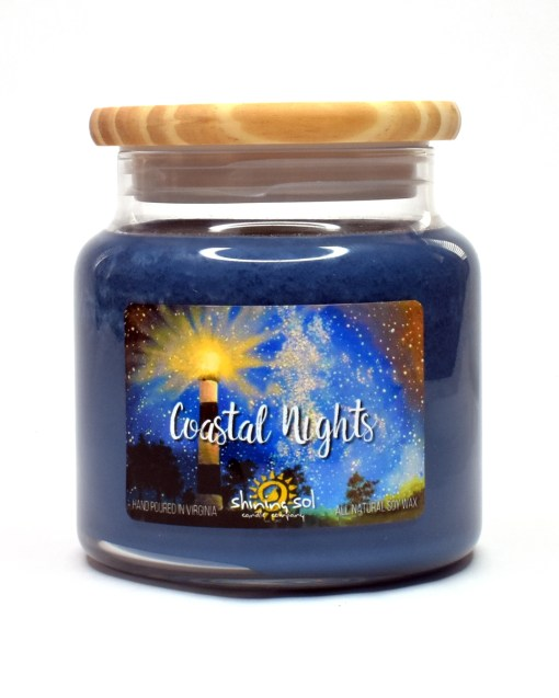 Coastal Nights - Large Candle