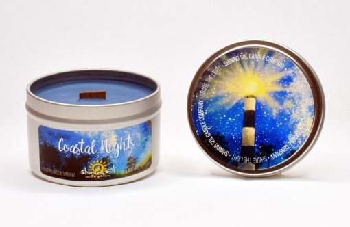 Coastal Nights - Large Tin