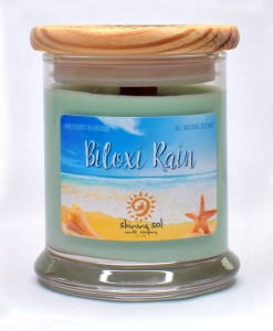 Biloxi Rain - Medium Candle