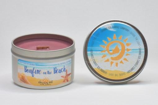 Bonfire on the Beach - Large Tin