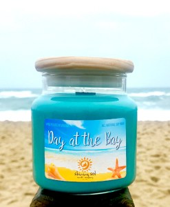 Day at the Bay - Promo Candle