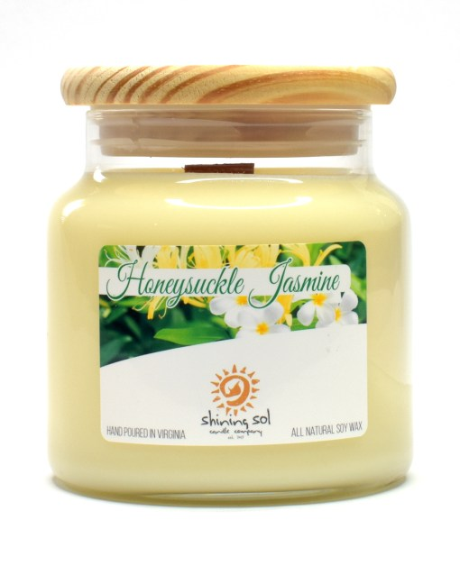 Honeysuckle Jasmine - Large Candle