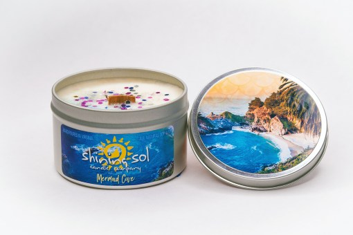 Mermaid Cove - Large Tin
