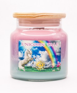 Unicorn Tale - Large Jar Candle