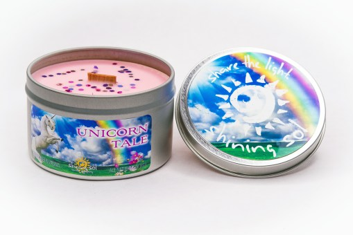 Unicorn Tale - Large Tin