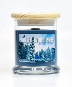 Winter Woodlands - Medium Jar