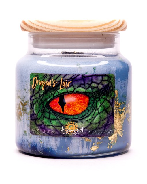 Dragon's Lair - Large Jar Candle
