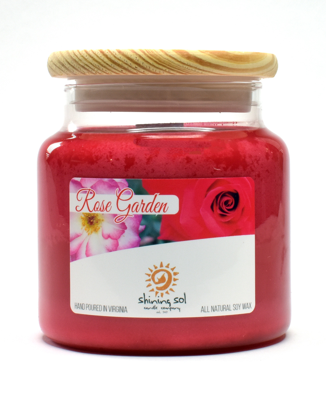 Rose Garden - Large Candle