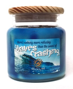 Waves Crashing - Large Jar Candle