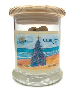 Christmas on the Coast - Medium Jar Candle