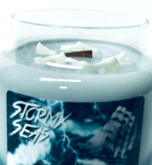 Stormy Seas - Jar Candle Top