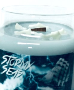 Stormy Seas - Jar Candle Top