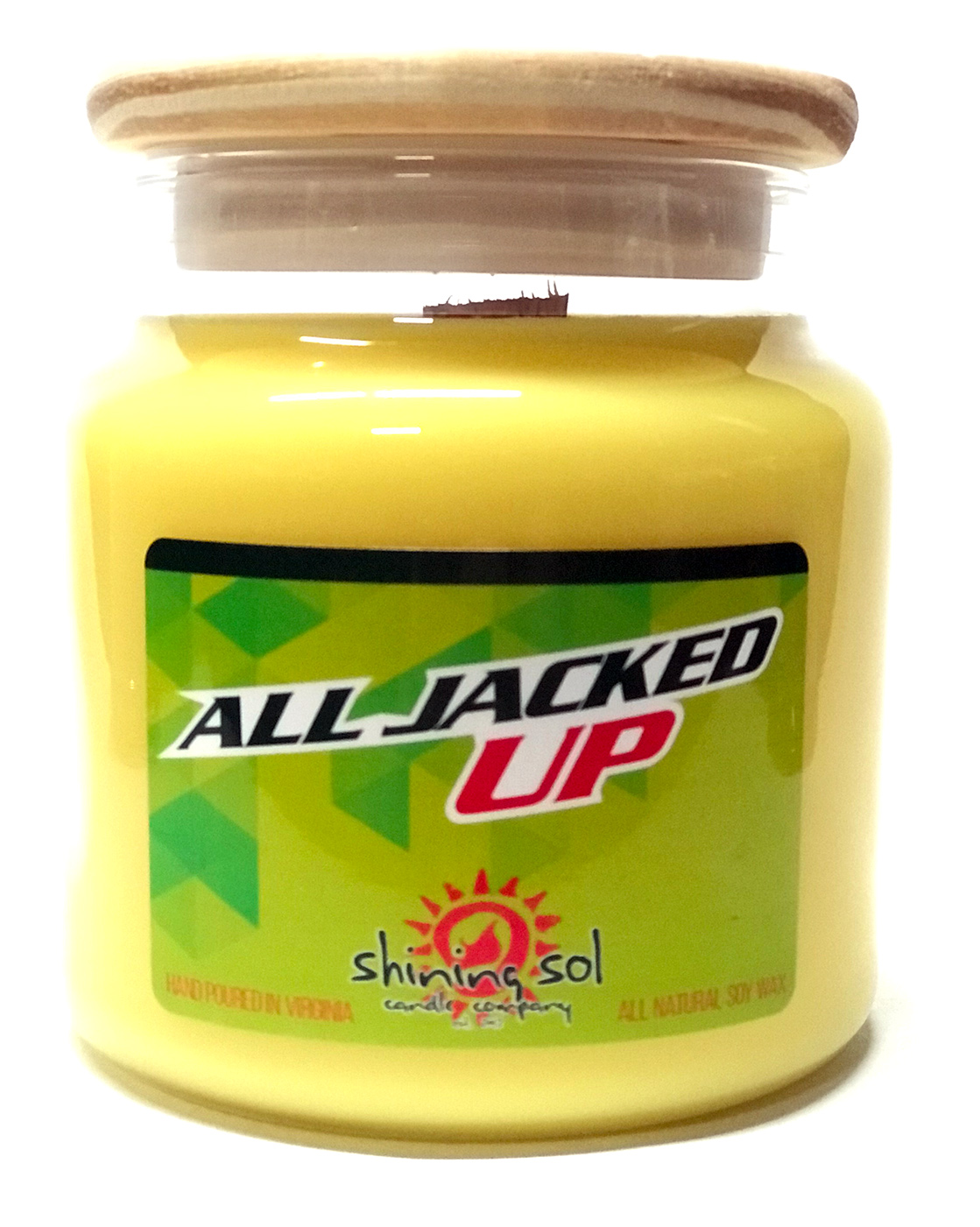 All Jacked Up - Large Jar Candle