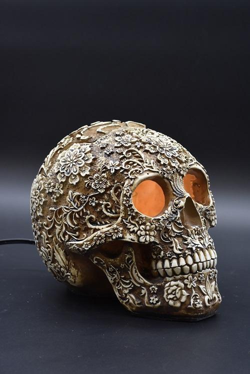 Natural Sugar Skull